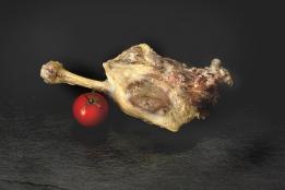 Cuisse de canard confite (cuite)