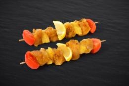 Brochette de Poulet Curry - Coco (x4)