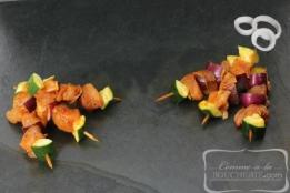 Mini-brochettes de poulet Tandoori (10 pièces)