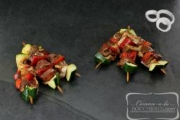 Mini-brochettes de canard Espelette (10 pièces)
