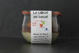 Mijoté de boeuf Aubrac 'Le local en Bocal'