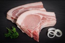 Côte de porc 'Grand-Mère'