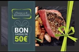 Carte cadeau Comme à la boucherie (25, 50 ou 75€)