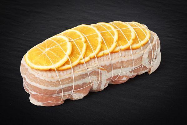 Rôti de Canette à l'orange