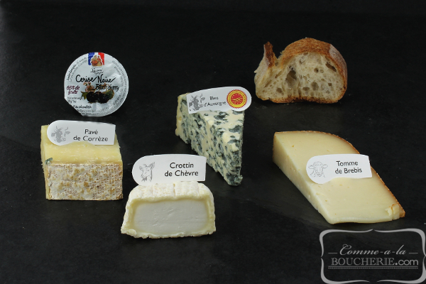 Plateau de fromages du Sud-Ouest