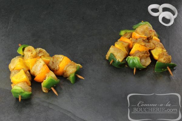 Mini-brochettes de poulet Catalane (10 pièces)