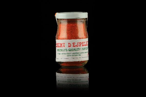 Piment d'Espelette AOC en poudre