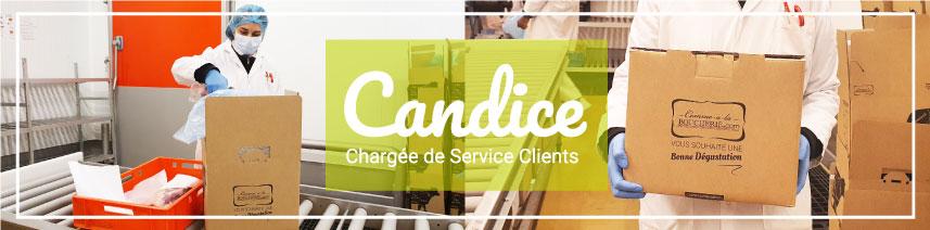 Candice, Chargée de Service Clients