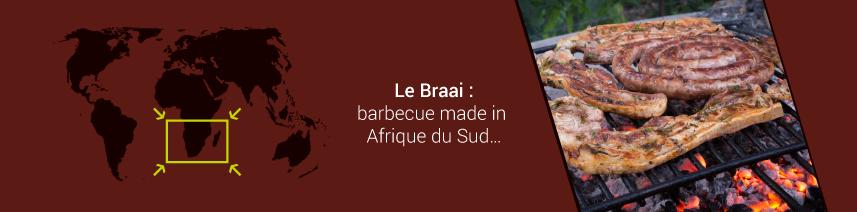 Le Braai : barbecue made in Afrique du Sud…