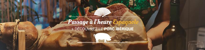 Pour les vacances : découverte du Porc Ibérique