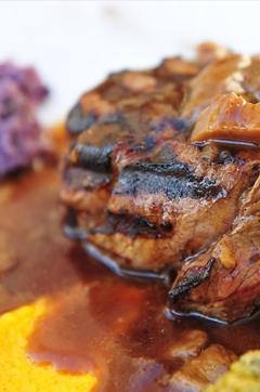 Recette de Rôti de bœuf aux girolles