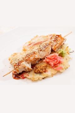 Recette de Escalopes de poulet grillées marinées au gingembre