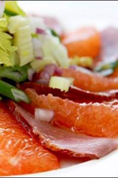 Recette de Carpaccio de magret de canard-pastèque