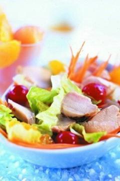 Recette de Salade de Lapin au zeste d'agrumes