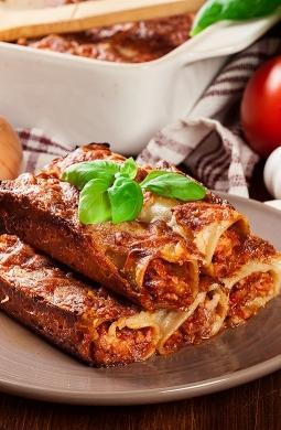 Recette de Cannellonis à la sicilienne