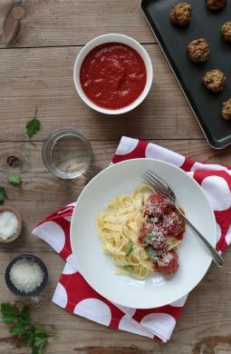 Recette de Boulettes de veau à la sauce tomate