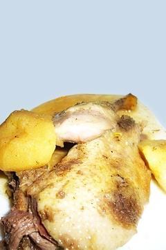 Recette de Canard sauvage au cidre et aux pommes