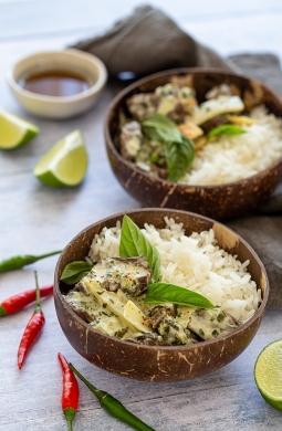 Recette de Curry de Boeuf à la Thaï