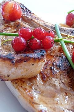 Recette de Côte de veau au rougail de tomates