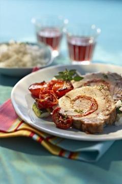 Recette de Rôti de porc à la Provençale
