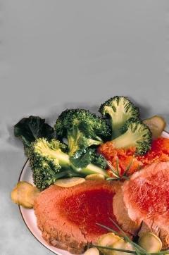 Filet de boeuf poché à la tomate