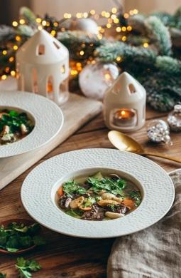 Recette de Bouillon thaï de joue de bœuf et foie gras