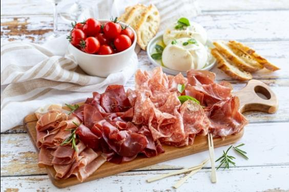 Assortiment de charcuteries italiennes